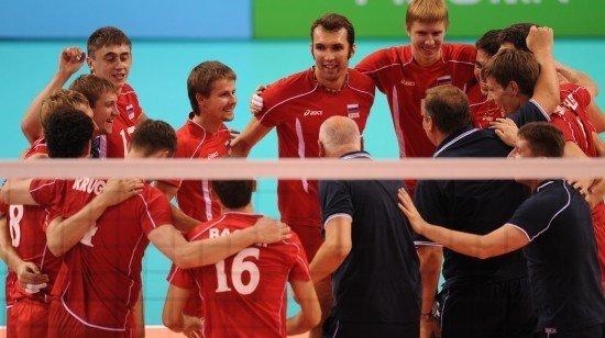 俄罗斯3-1轻取乌克兰 收获大运会男排金牌