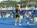 视频:女子铁人三项 日本选手率先转入自行车