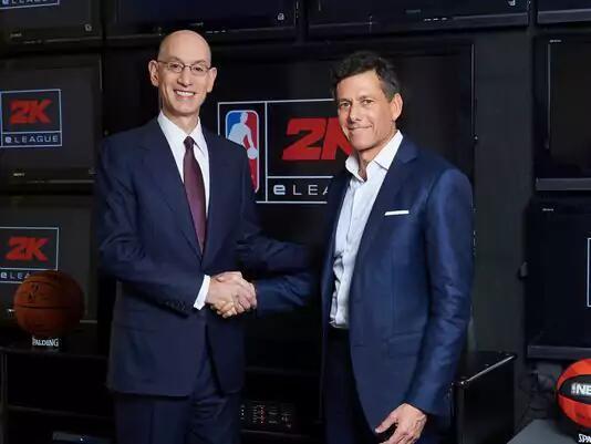 NBA进军电子竞技领域 联手2K系列打造线上联赛