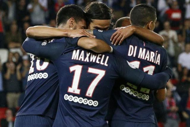 法甲-巴黎3-0轻取第戎两连胜 卡瓦尼近3场6球