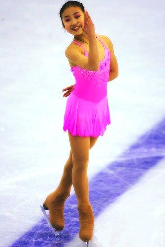 花样滑冰女子单人滑中国明星之耿冰娃