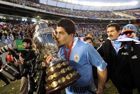 6战4球捧出南美MVP 乌拉圭新王子接弗兰王旗
