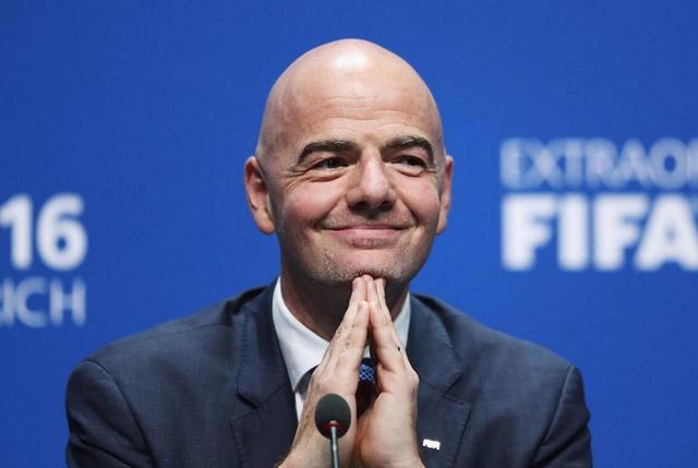 一般黑?FIFA新主席也摊上事 或被禁足90天