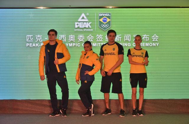 巴西奥委会展示平昌冬奥新队服 匹克替换耐克
