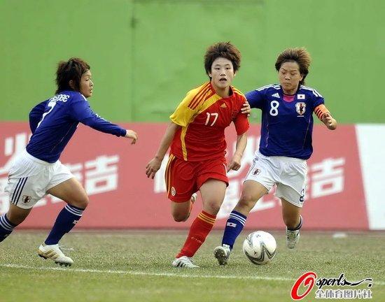亚运-中国女足加时被绝杀 0-1负日本无缘决赛