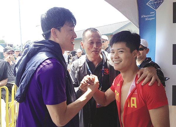 刘翔直言百米接力日本占优 世锦赛看好苏炳添