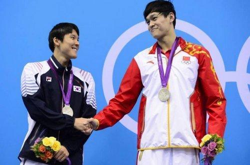 港媒:孙杨、朴泰桓的幸运与不幸