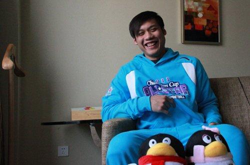 林志杰微访谈:明年或将战三分大赛 最爱科比