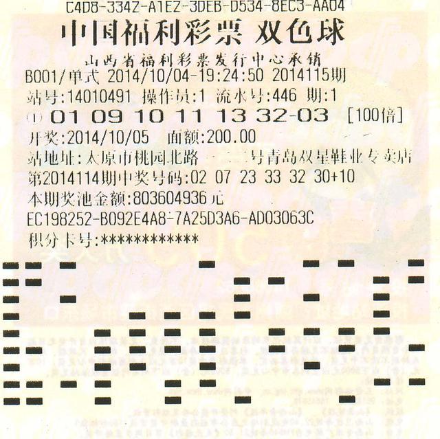 5.25亿彩票曝光遭质疑 100倍倍投从何而来?