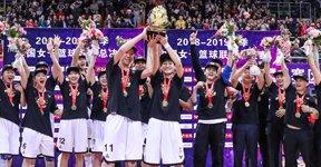 广东众女将夺WCBA总冠军