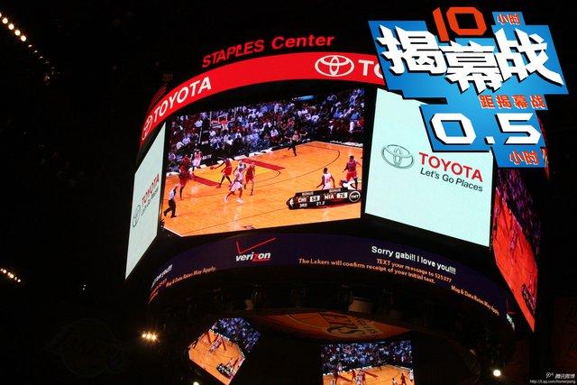 揭幕战10小时-斯台普斯球馆视频直播热火比赛