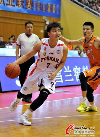 罗智6记三分领6人上双 佛山胜上海结束三连败