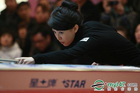九球赛潘晓婷9-7韩雨晋级 半决赛将战刘莎莎