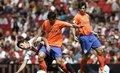视频:首届酋长杯第1战 比利亚助瓦伦2-0国米