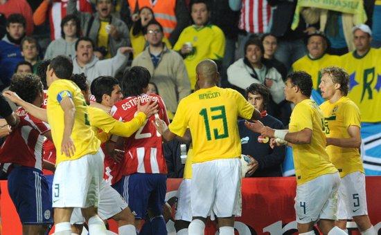 美洲杯-巴西点球战4罚全丢出局 2强皆无缘4强