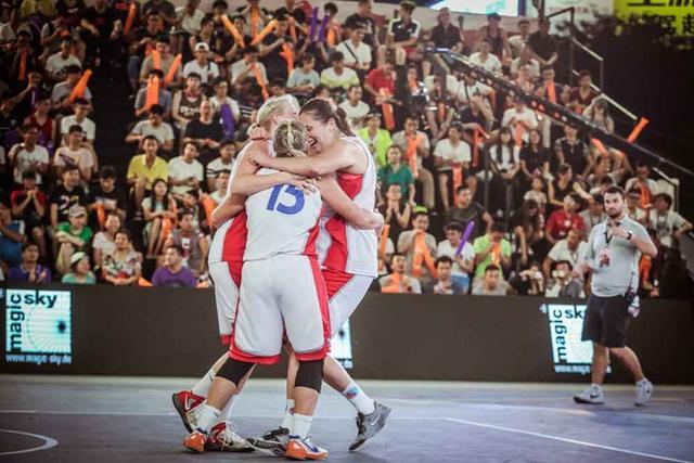 FIBA3X3世锦赛女篮-黑马捷克夺冠 美国获第三