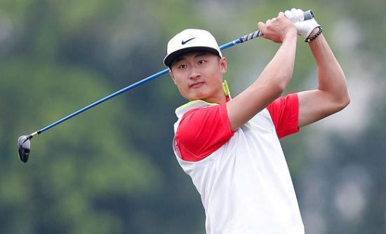 观澜湖高球明星赛 中国选手首次问鼎职业组