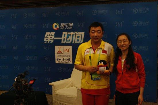 专访杨凌:易思玲心理好 亚运目标是团体金牌
