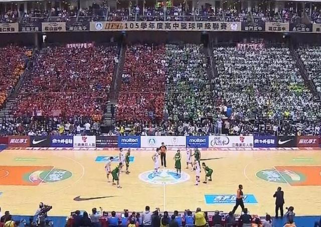 台湾高中总决赛用上3D投影 清华曾输亚军36分