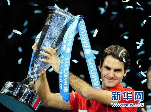 ATP世界巡回赛总决赛:费德勒夺冠(组图)