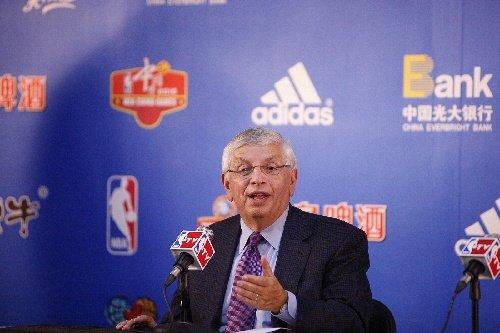 专访斯特恩:NBA中国赛不依赖姚明