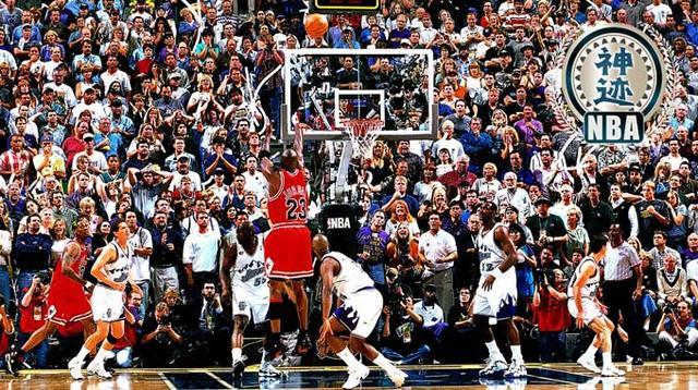 【NBA神迹】世纪一投 乔丹惊天绝杀获总冠军