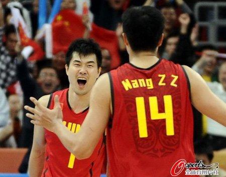 王仕鹏大郅拯救男篮! 中国险胜连续9届进决赛