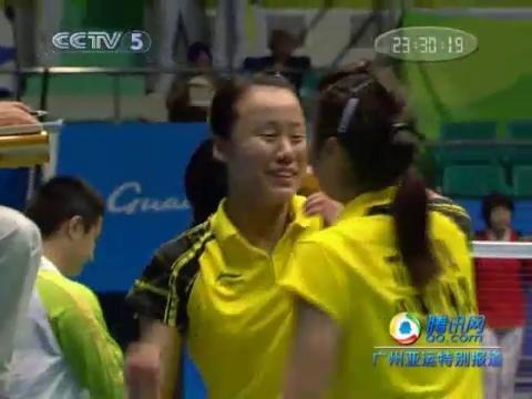 视频:赵芸蕾/田卿赢得中国德比 夺得羽毛球女双冠军