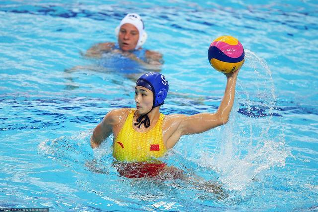 五连胜卫冕!中国女子水球11-6胜哈萨克夺冠