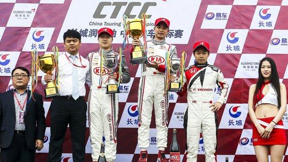 CTCC房车锦标赛1.6T组 三英积分相同