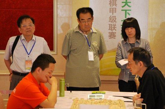 """2012""""周庄杯""""海峡两岸象棋大师赛拉开战幕"""