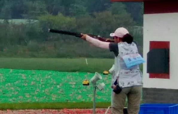 前奥运冠军张山获全运银牌 射击是生命一部分
