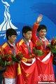 图文:亚运会男子斯诺克团体决赛中国夺冠