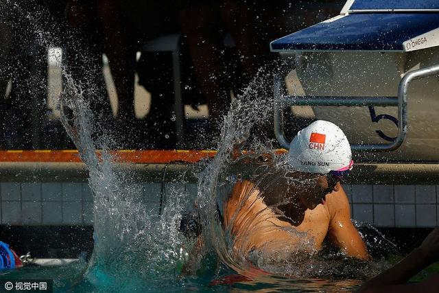 美国大赛:孙杨缺席188bet官网1500米自 王柯成夺第四