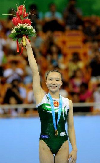 大运会体操女子全能 肖康君爆冷夺冠日本摘银
