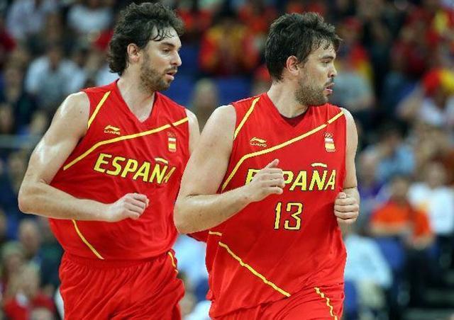 西班牙男篮公布20人集训名单 加索尔兄弟领衔