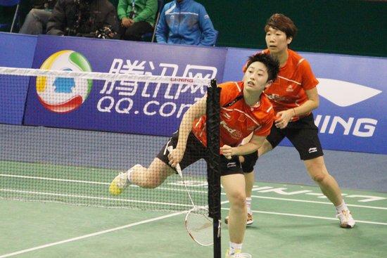 于洋/王晓理2-0完胜韩组合卫冕 首局仅丢8分