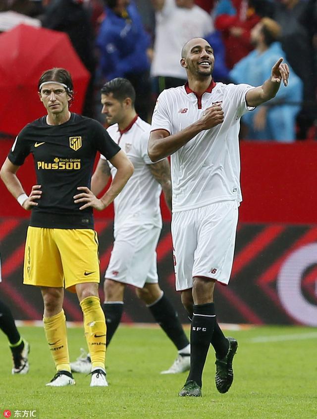 西甲-马竞0-1塞维利亚赛季首败 悍将单刀制胜