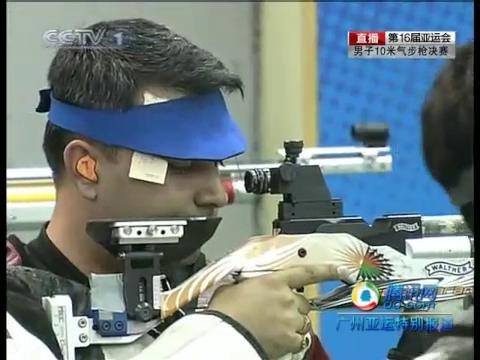 视频:朱启南反超印度选手 比赛扣人心弦