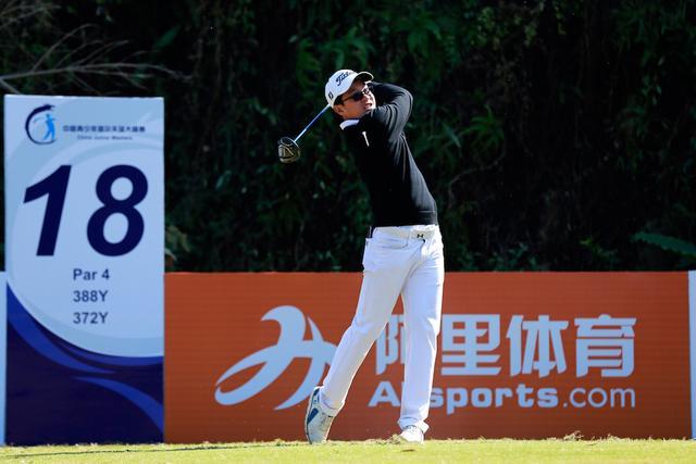 中国青少年高尔夫大师赛次日 姐妹花并列领先