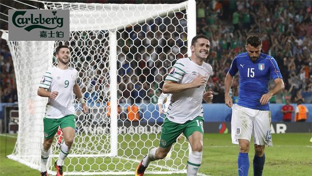 欧洲杯-爱尔兰1-0力克意大利晋级 布拉迪绝杀