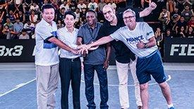 FIBA3X3世锦赛更名世界杯 2017年将移师法国