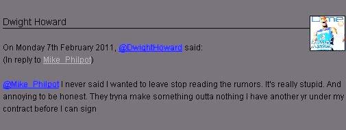 霍华德微博截屏