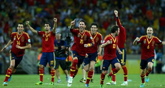 腾讯特评:西班牙只是命硬 锋无力只好拼运气