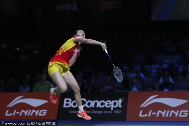 世锦赛李雪芮2-0三谷美菜津 连续两年进决赛