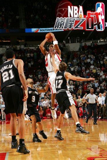NBA巅峰之战之火箭 麦蒂35秒13分光辉永恒