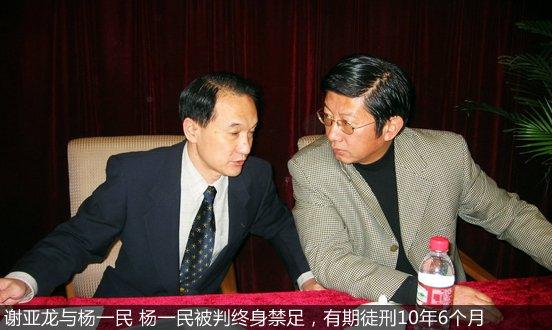 谢亚龙和杨一民讨论问题