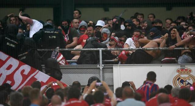 拜仁不满马德里警方暴力袭击球迷 上诉欧足联