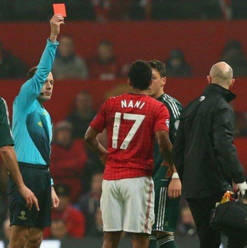 争议主裁终开口:纳尼红牌正确 英球队是非多