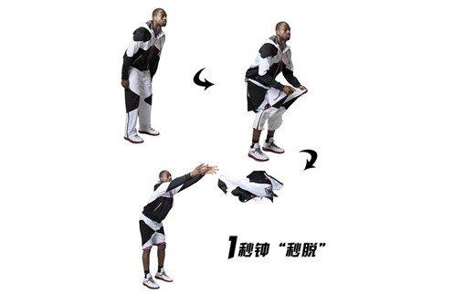 玩裤当道 李宁推出2013韦德系列定制款秒脱裤